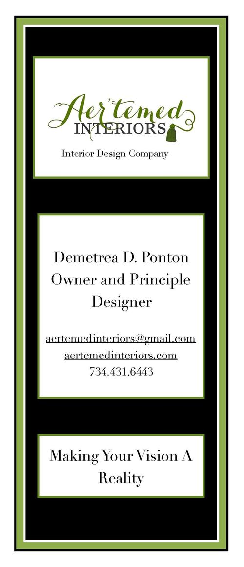 3 -D D IG ITA L DE SIG N  Interior Design Company  After the consultation, space planning, furniture selection, paint colo...